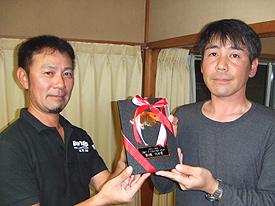 第3戦TOP賞:元栄選手2,695g5尾