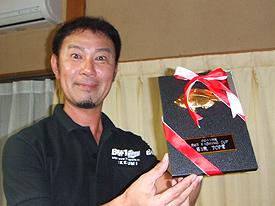 第1戦TOP賞:池角選手2,885g5尾
